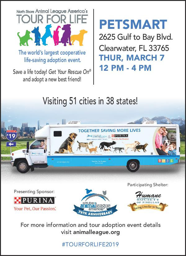 Tour for Life with North Shore Animal League America — Humane