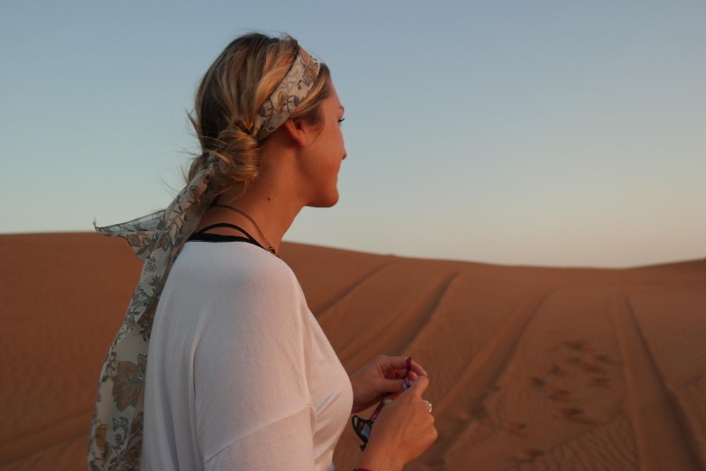 Dunes of Dubai.