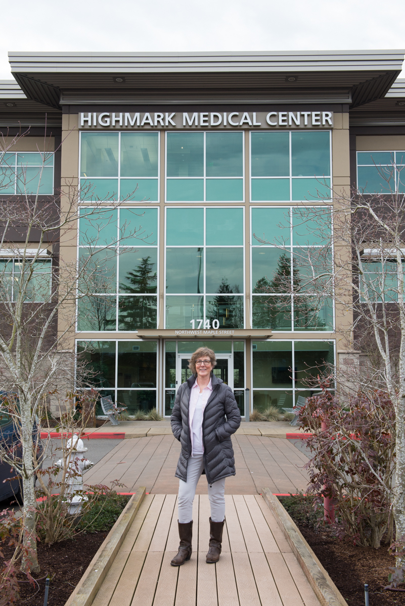 The veteran curator of art for the UW Physicians Network, Peggy Weiss, believes in the curative power of original art in hospital settings.  I am so thankful to have a wonderful relationship with her.