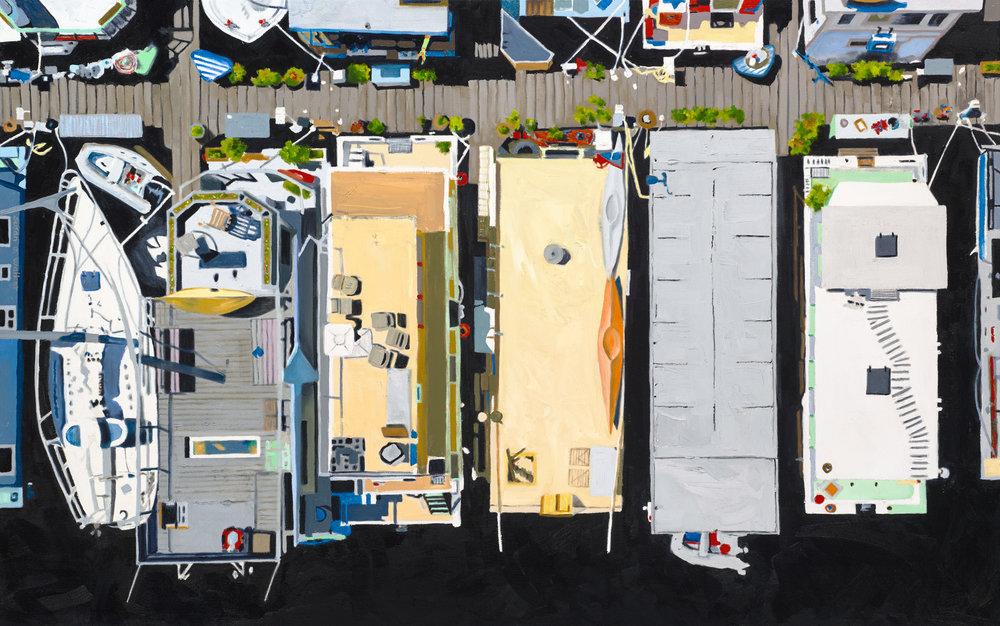 Houseboat Rooftops
