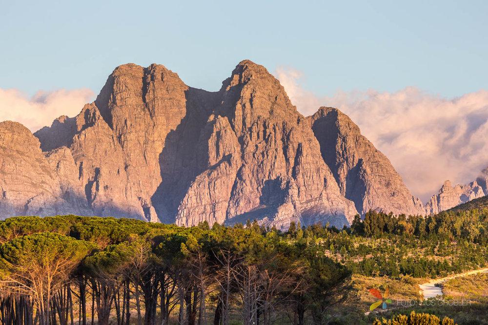 Mountain Peaks in Stellenbosch