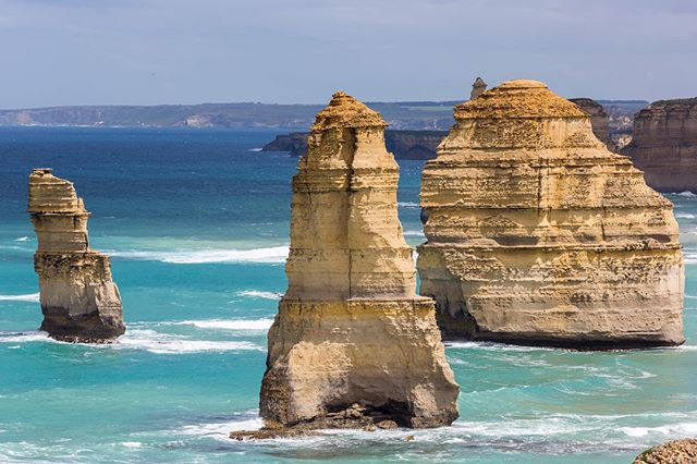 Twelve Apostles, Great Ocean Road 2016. Check out my blog: www.fotoinusgrobler.com #australia #travelphotography #greatoceanroad #naturephotography #ocean #waves #photooftheday #landscape #seascape