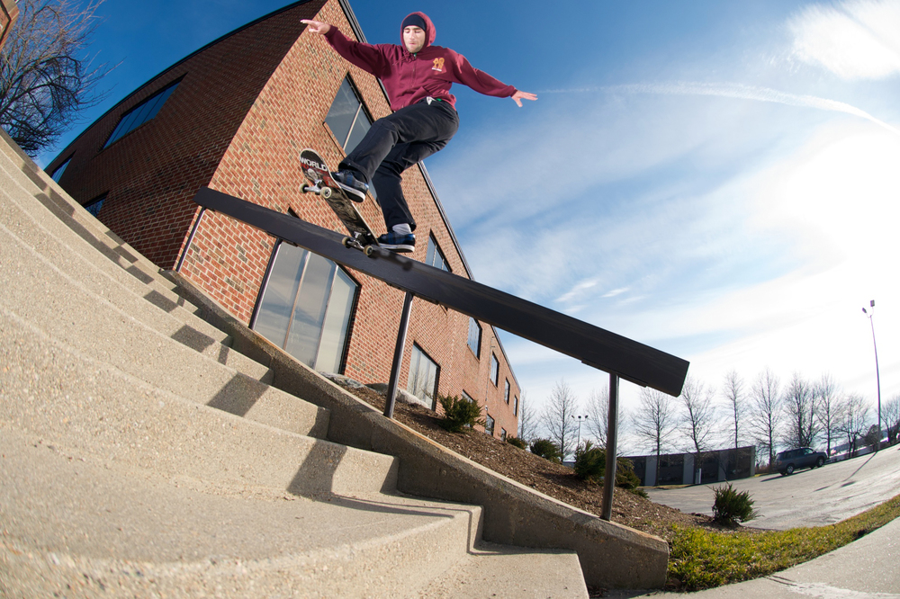 ANTHONY SHETLER / BS TAILSLIDE / MIDDLETOWN, RI