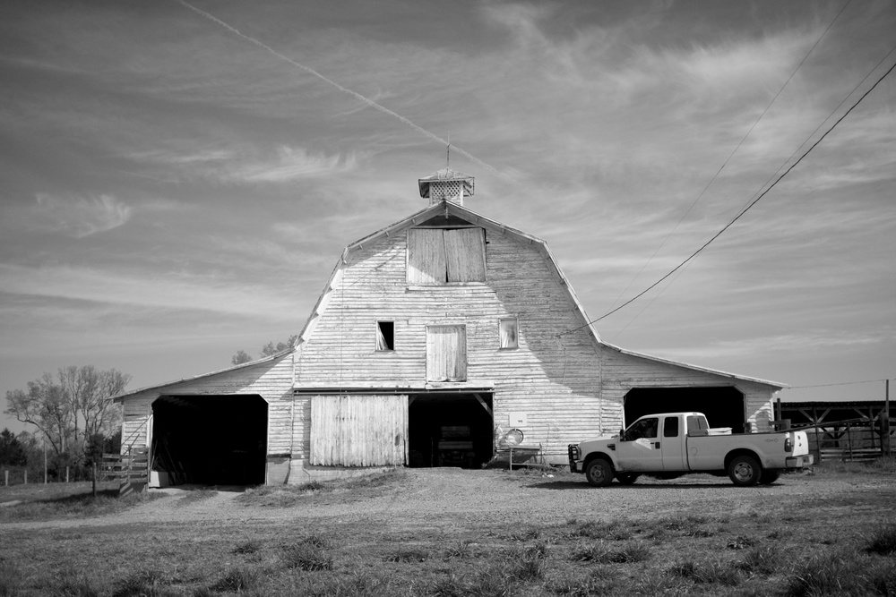 the big barn