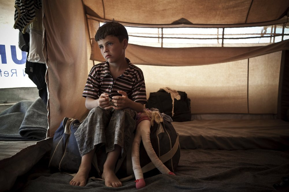 Syrian Refugee. Photograph: Save the Children: Stop the Atrocities