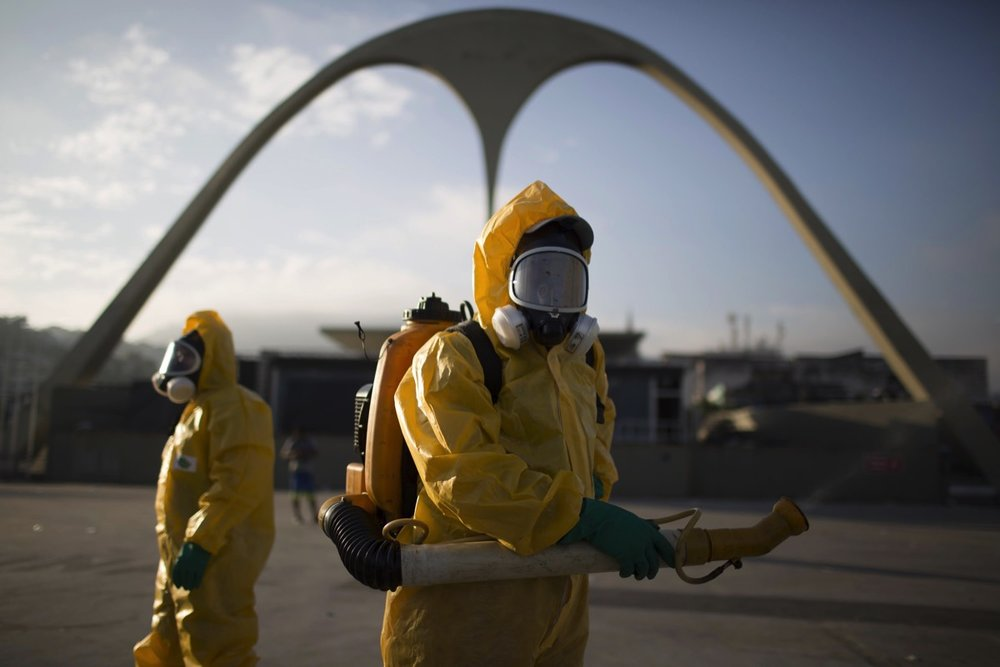 "Rio de Janeiro: Brazil's health minister was warned that the country is ""badly losing"" the battle against the mosquito blamed for spreading Zika virus. Photograph: Mumbai News World"
