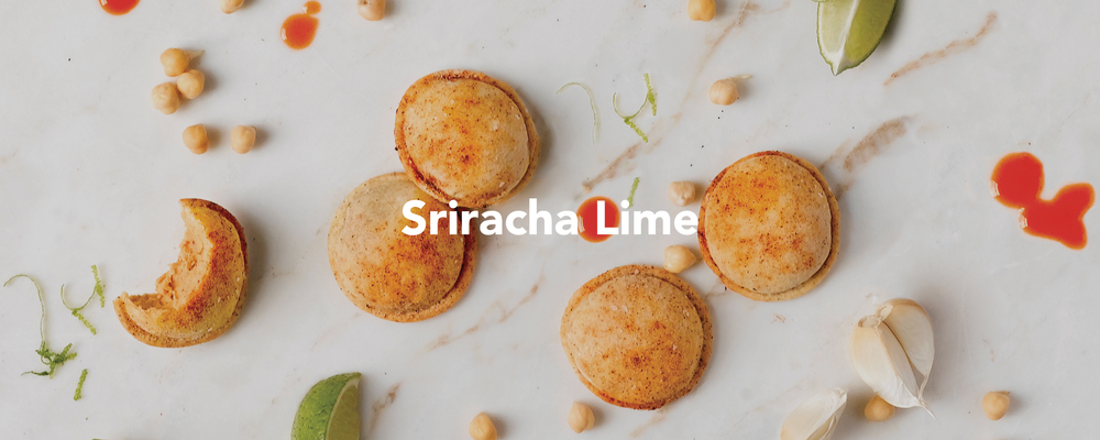 Sriracha Lime Hummus Pods. Spicy, tangy, authentic, delicious.