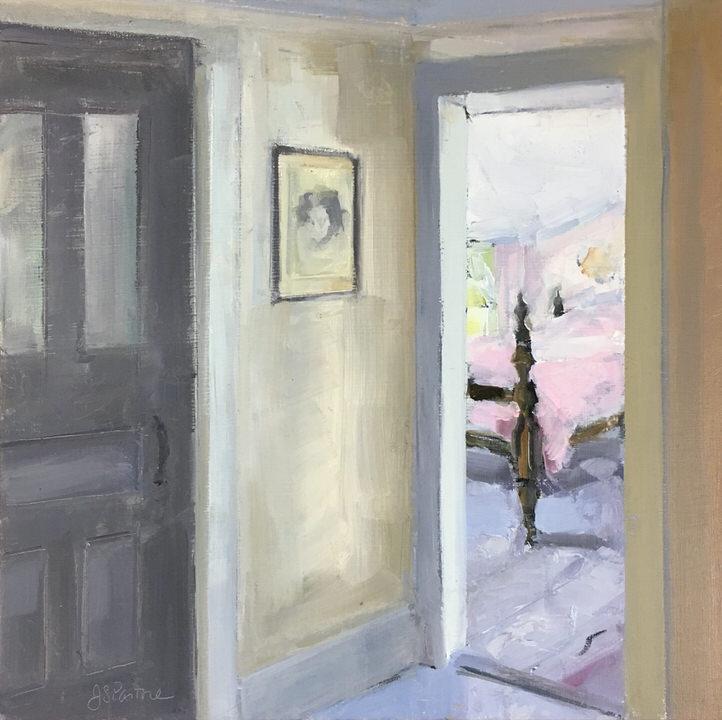 Jaffrey Cottage Pink Bedroom