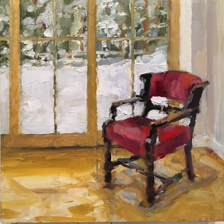 2018.ConnectingwiththePast#2-RedVelvetChair.oil.12x12.jpg