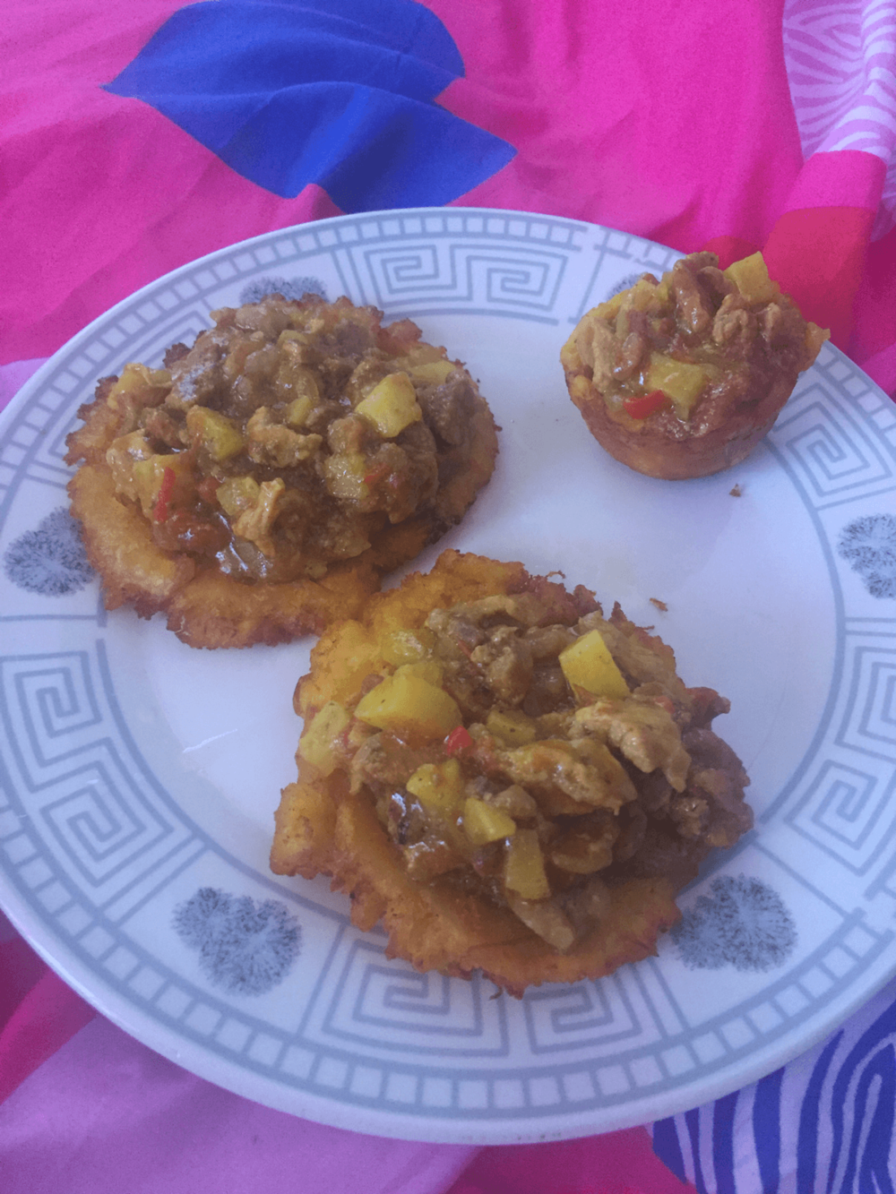 Colombian patacones- Traditional Colombian Food