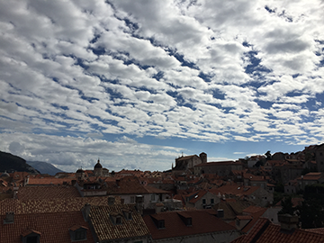 Walking the City Walls of the Old City of Dubrovnik