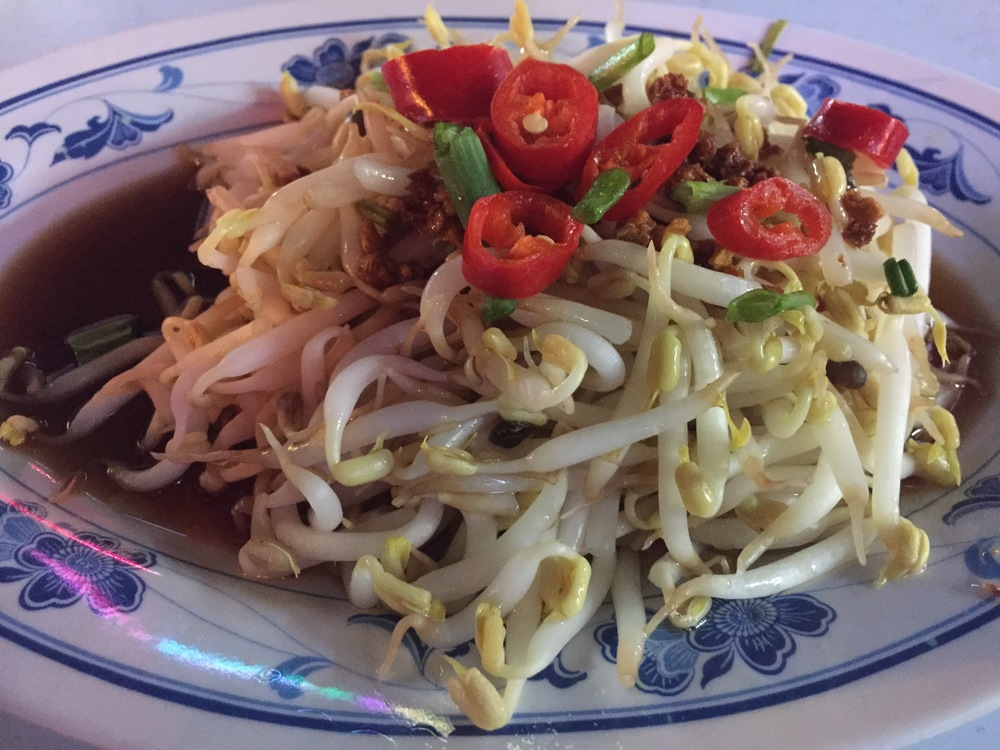These bean sprouts were just amazing!