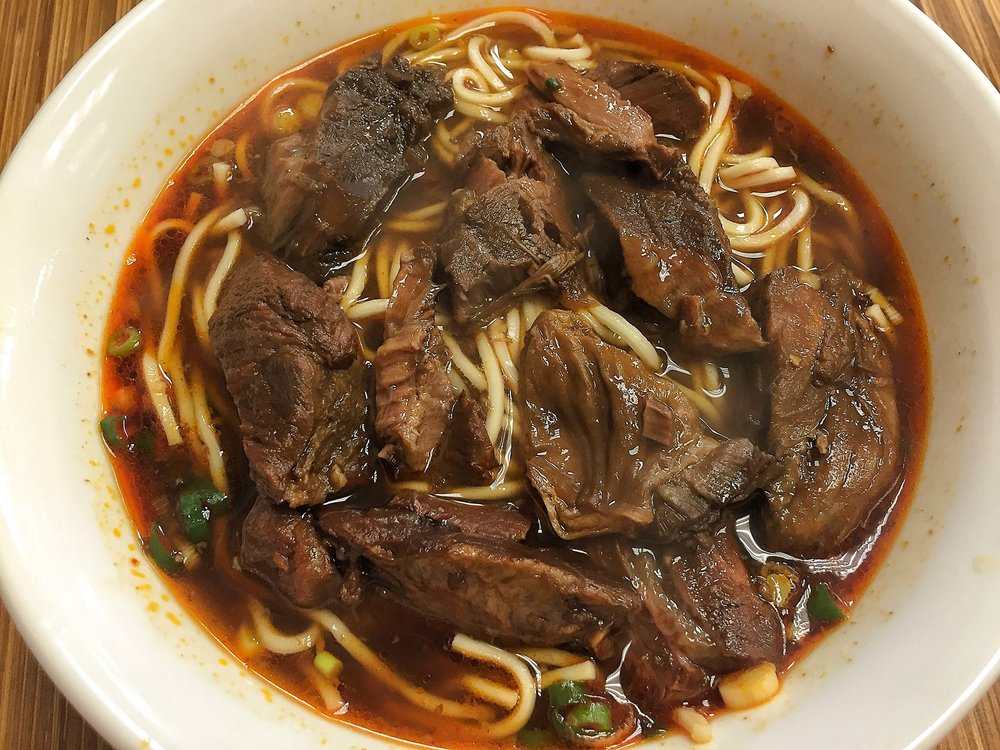 Come try good food in Taipei- beef noodles