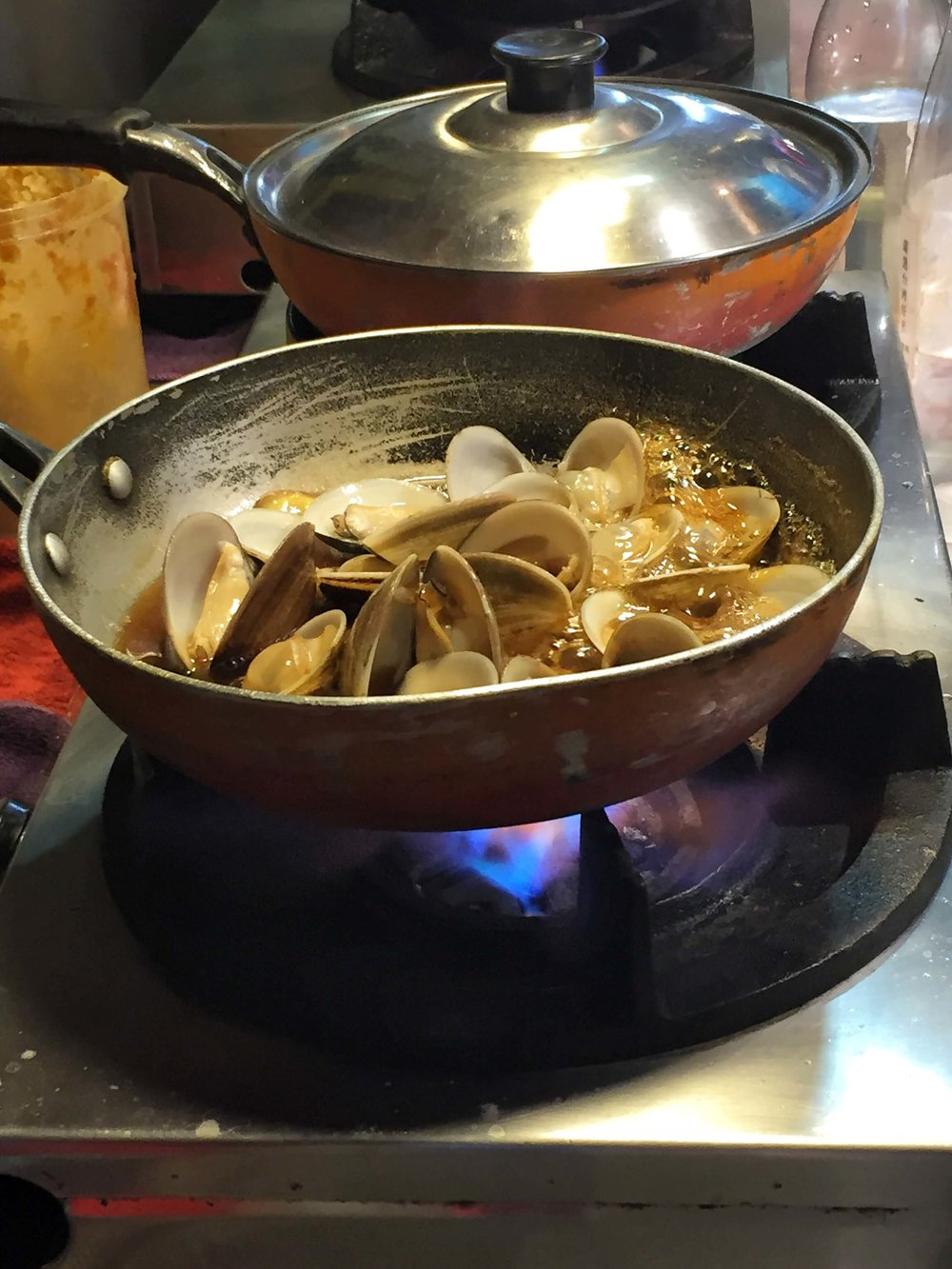 Clams- Taipei Shilin Night Market Food