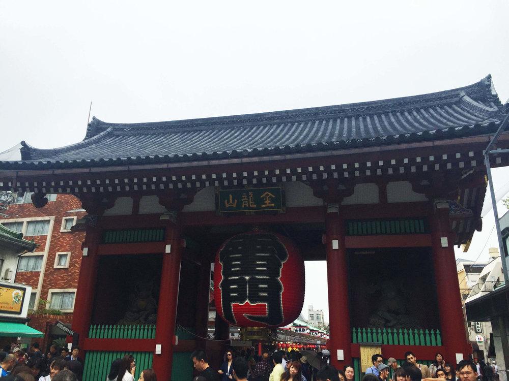 Kaminarion Entrance to Sensoji Temple