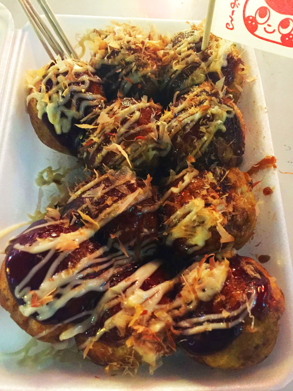 Osaka Japanese Food-Takoyaki
