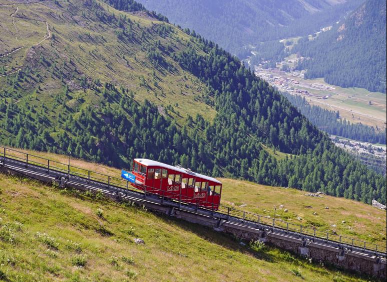 Funicular Railway Aussichtspunkt