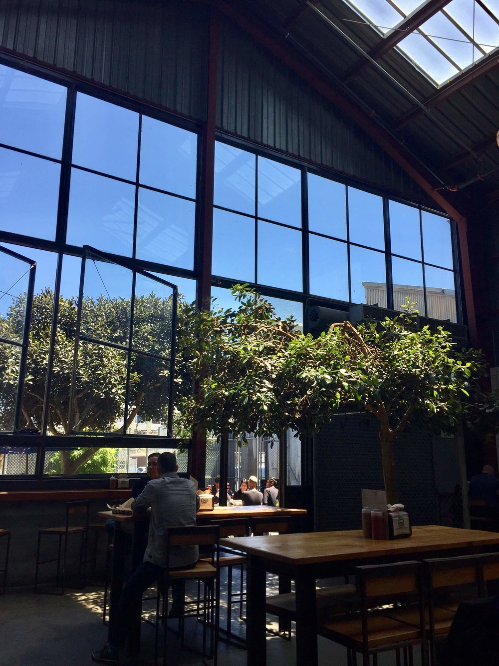 Inside Southern Pacific Brewing