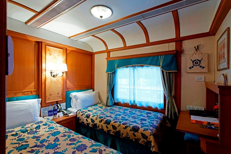 Deluxe Cabin On Board the Deccan Odyssey