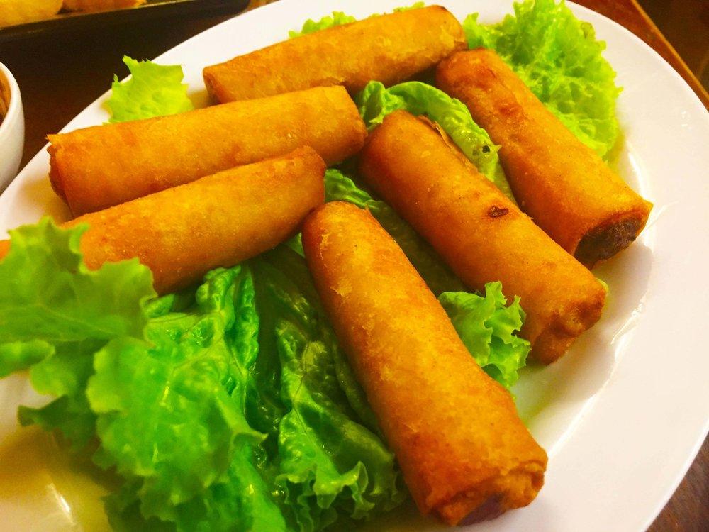 Spring rolls= yummy!