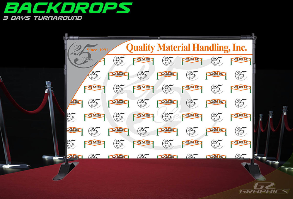 Backdrops banners