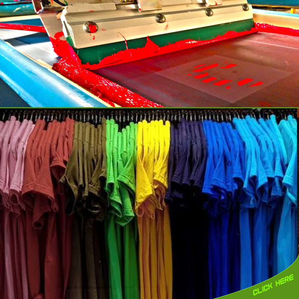 t shirt printing silk screen printing companies