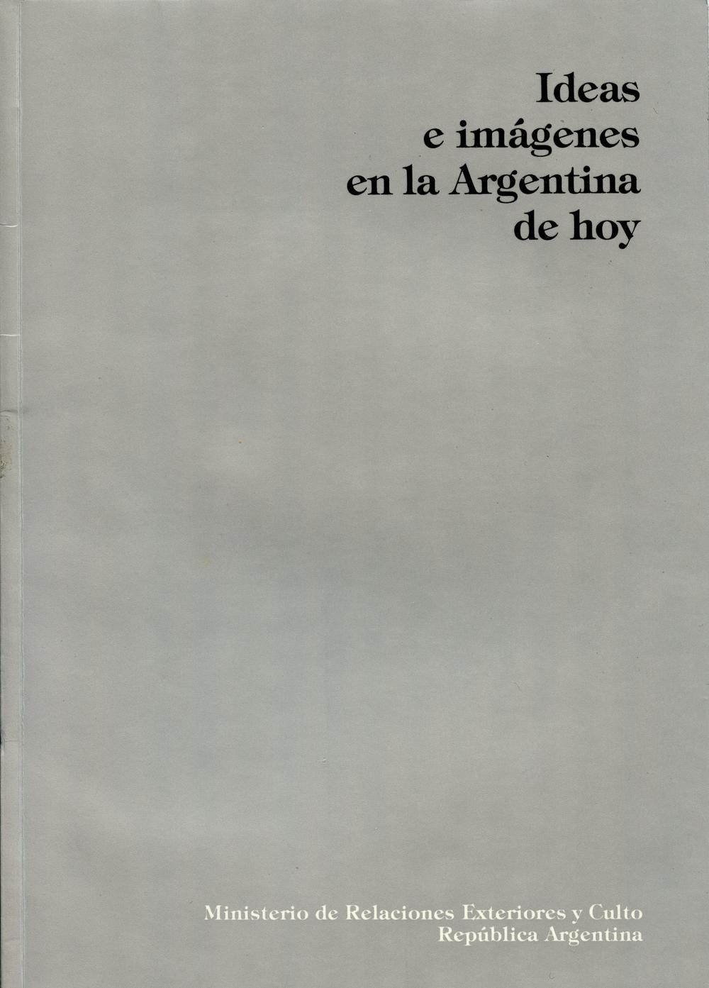 Ideas e imagenes en la Argentina hoy, Museo de Arte Moderno de Mexico 1985