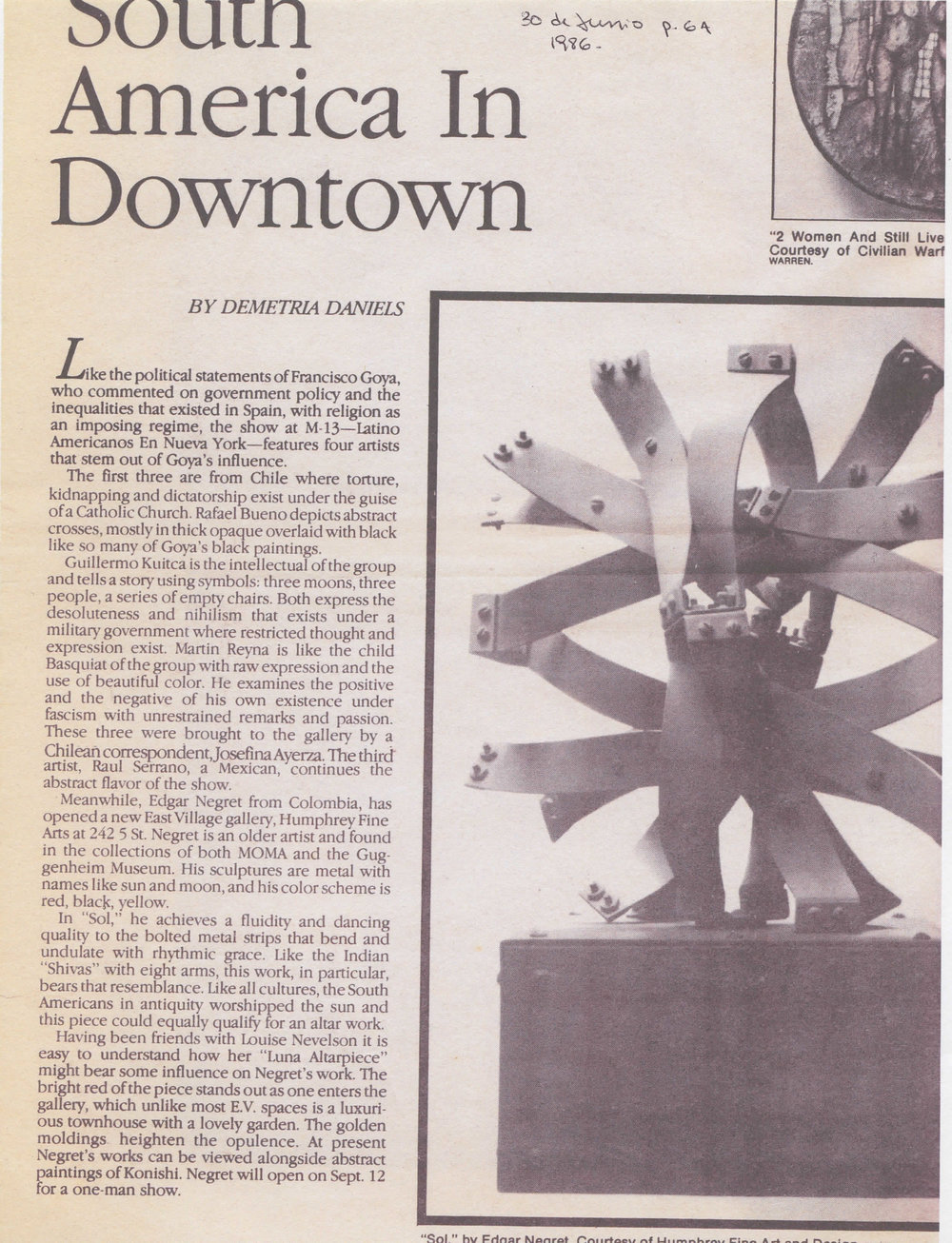 1986- June 30th- Bomb Magazine- Demetria Daniels- South America in Downtown.jpg