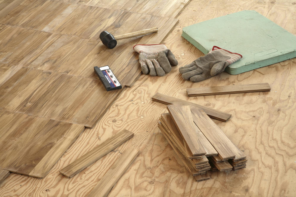 Q Construct How To Install Hardwood Floors On