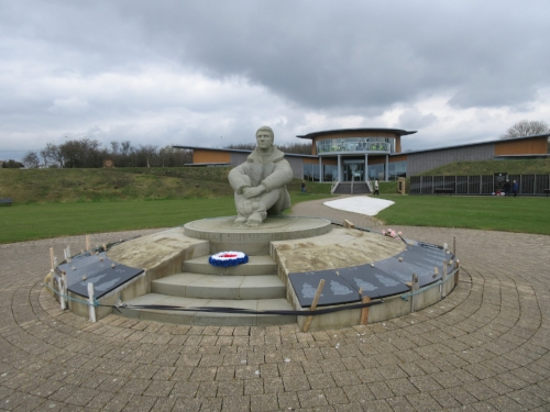 The Battle of Britain Memorial at Capel le Ferne