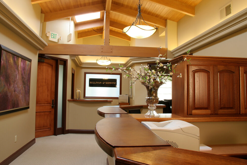 Financial Professional Interior Office Design , Truckee, Lake Tahoe