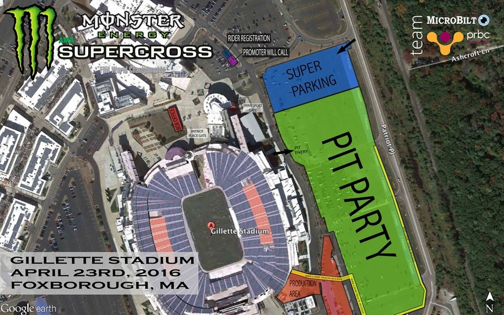 Click the image to enlarge the map of the event site.