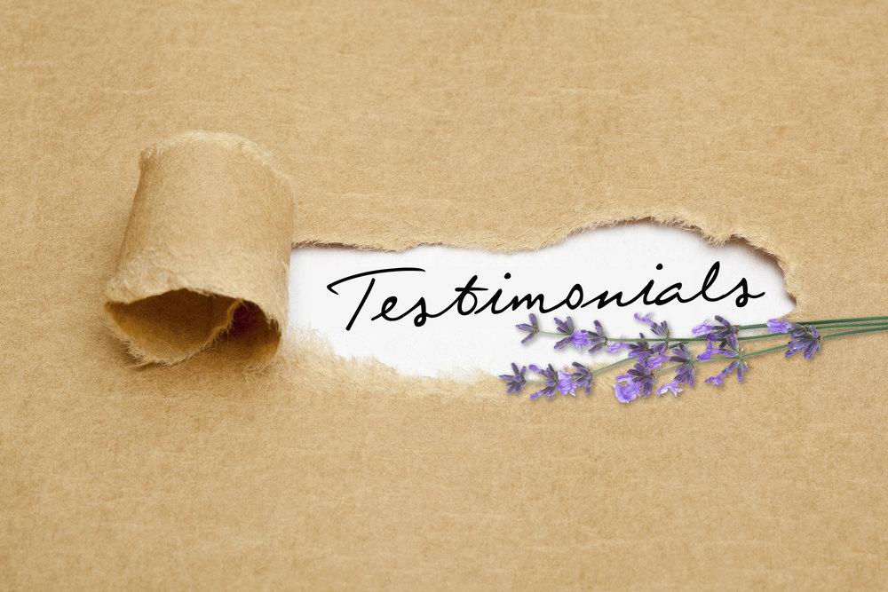 reves de sabine testimonials