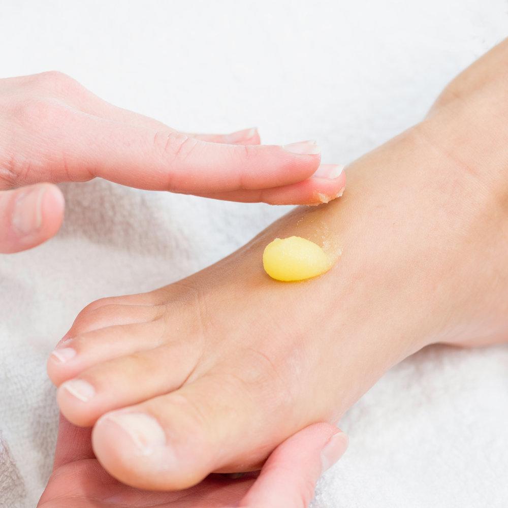 Massage hands and feet