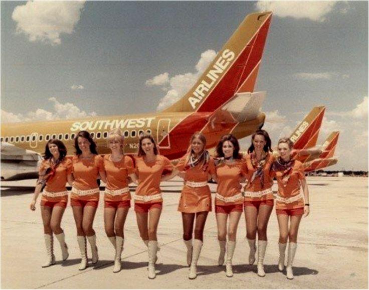 Southwest airlines flight attendants