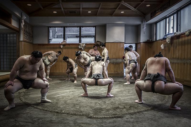 Sumo Stretching