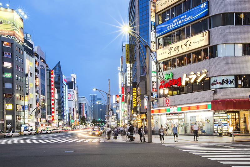 Ueno Streets