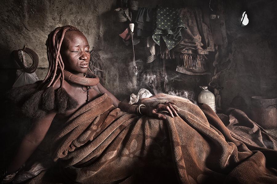 Himba Bath