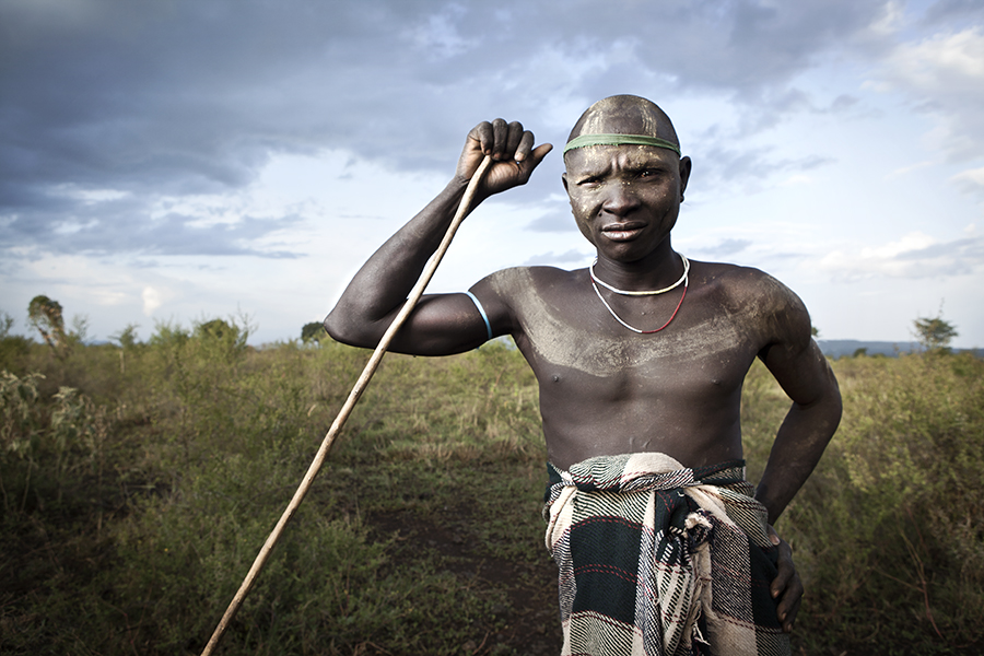 Mursi Man Hunter