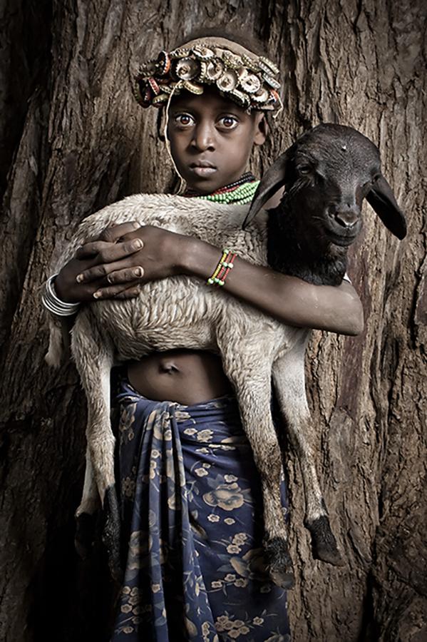 Girl & Goat
