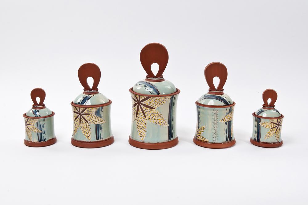 Storage Jars - Small £55, Medium £75, Large £85 (Full Set £300)
