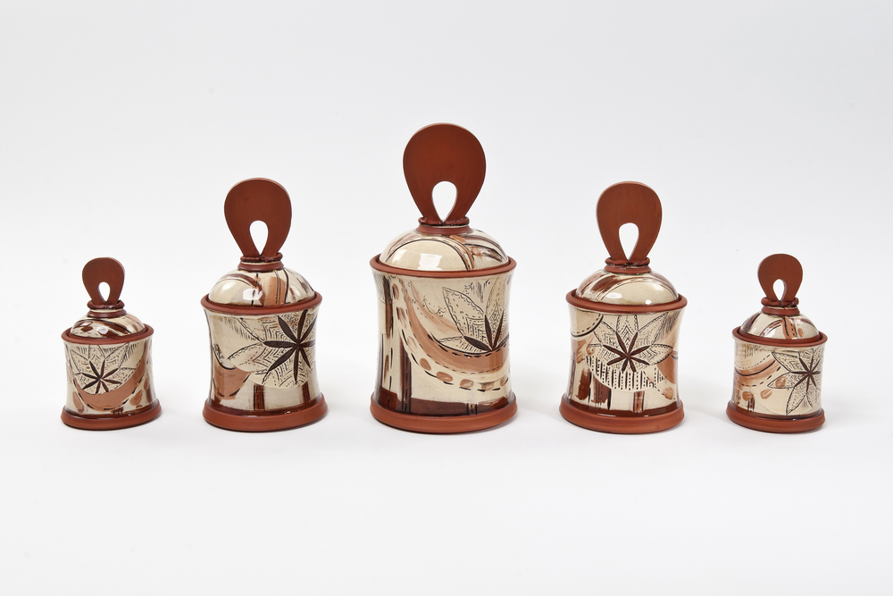 Storage Jars - Small £55, Medium £75, Large £85 (Full Set £300)