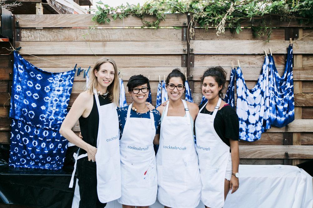 Eva, Sarah, Valerie and Stephanie. Photo by Jen Eun.