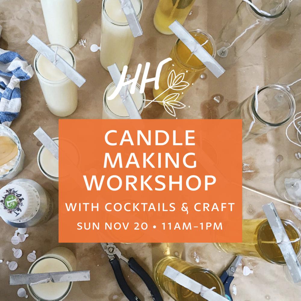 handmade-habitat-candle-making-workshop-cocktails-and-craft