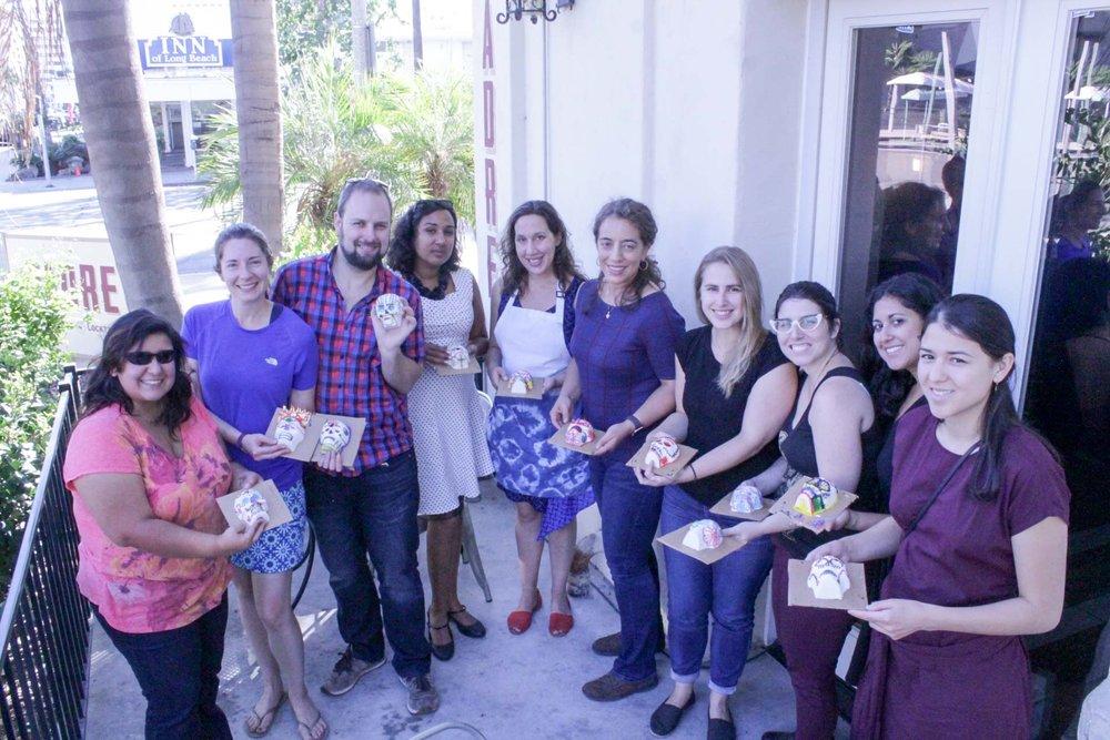 Pepita Bonitas & Sugar Skulls Workshop in Long Beach, CA