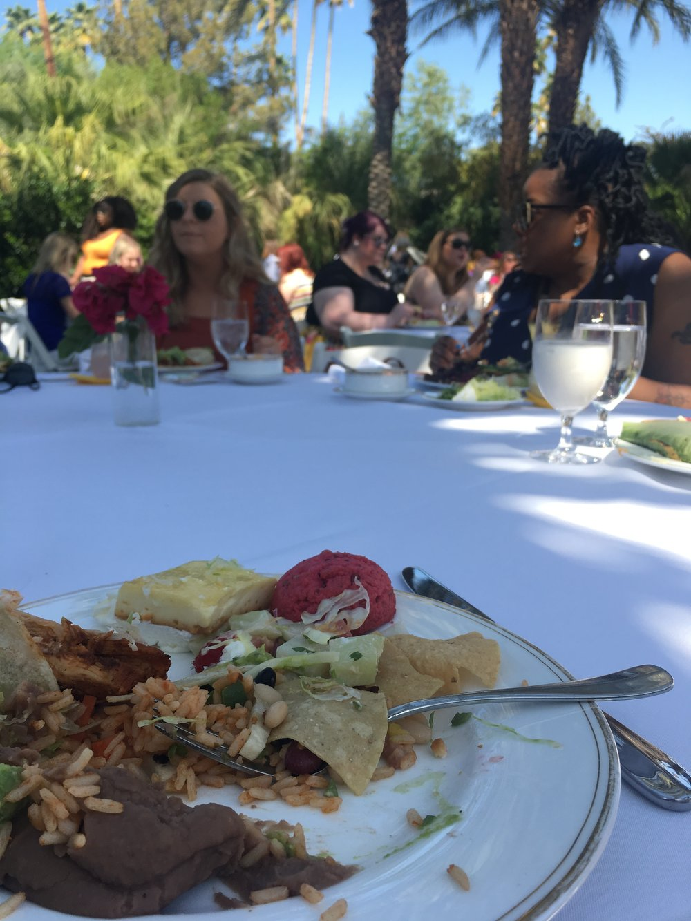 Lunch at The Parker, Alt Oasis, Palm Springs
