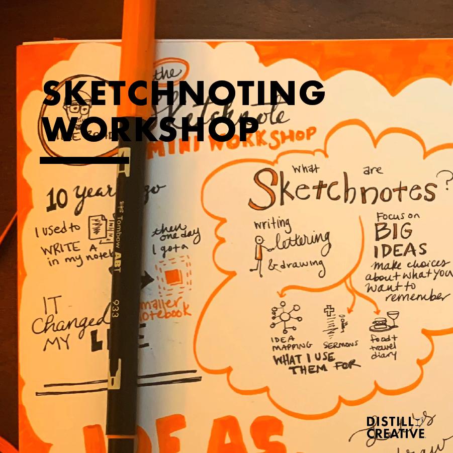 Sketchnoting Workshop Distill Creative