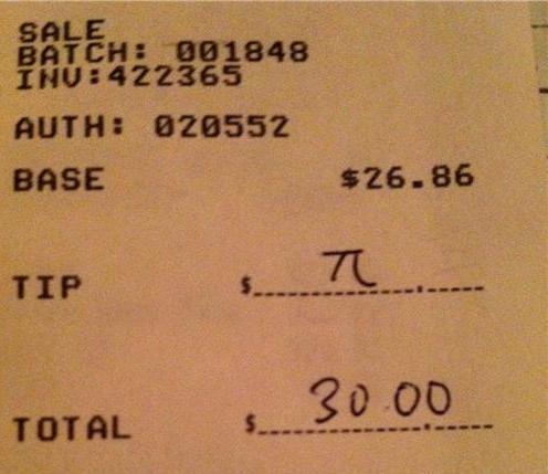 receipt tips