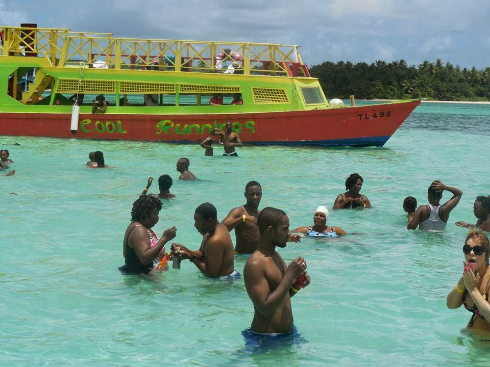 Nylon pool in Tobago
