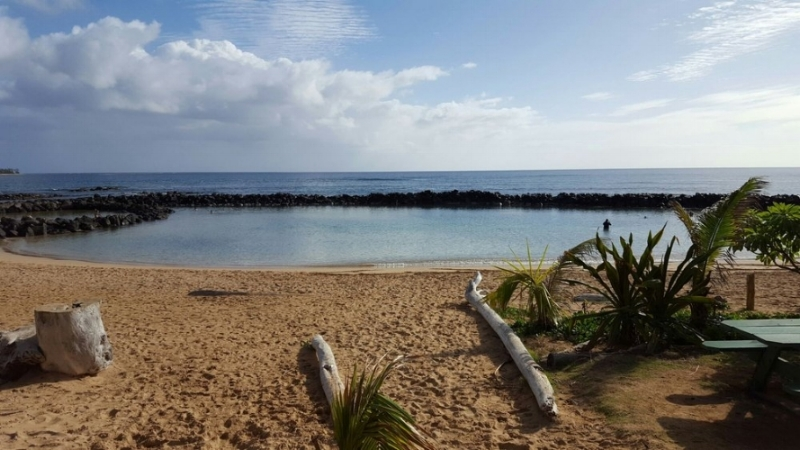 Lydgate State Park Beach